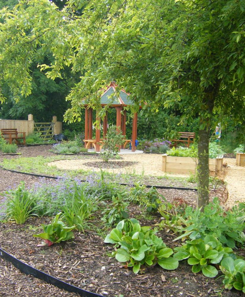 A wiltshire school garden