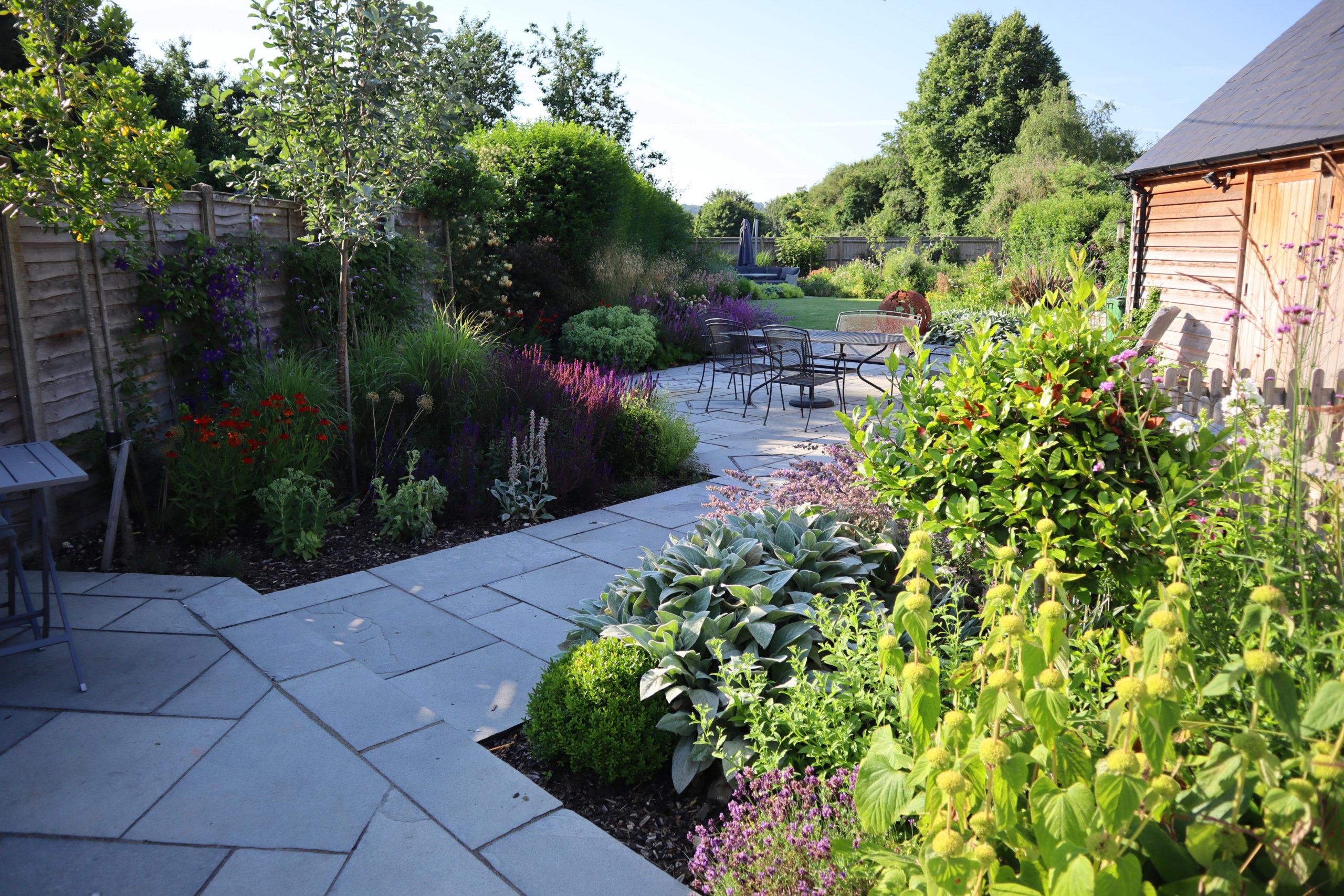 Family Garden Redesign - pathway