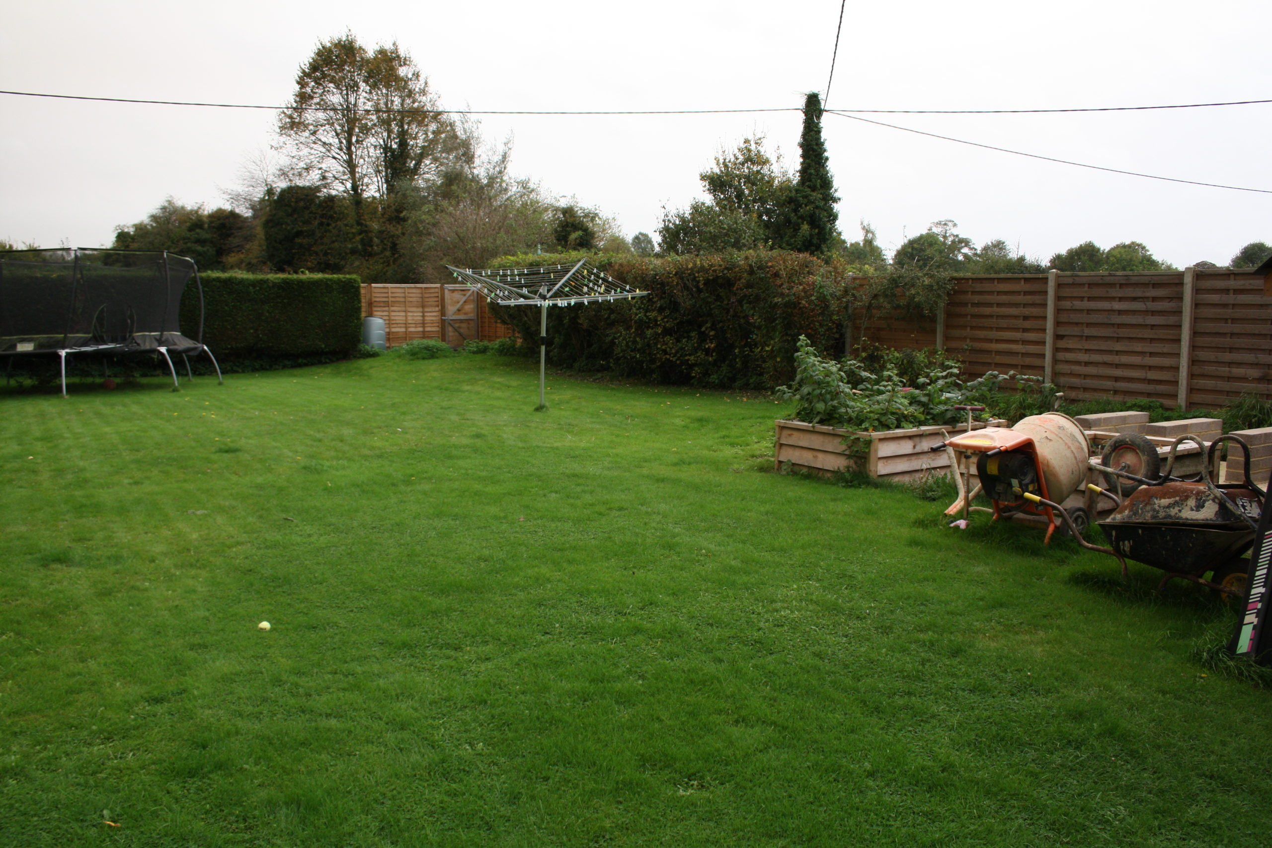 Family Garden Redesign - Before